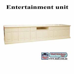 long unit, white satin polyurethane