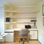 Compact small home office. SOHO,