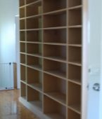 Bookcases, built in and custom made