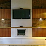 Fireplace Joinery with TV above