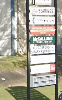 McCallums Kitchens contact details