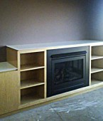 Fire place and entertainment unit